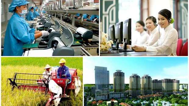 2015年越南主要经济社会发展指标落实结果及2016年的主要指标 hinh anh 1