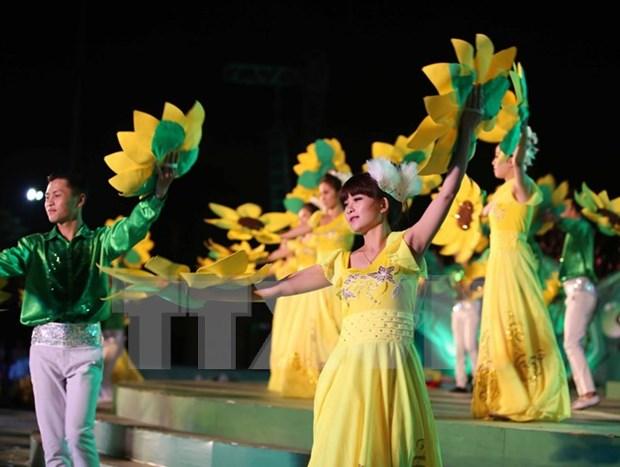 2015年第六次大叻花卉节落下帷幕 hinh anh 2