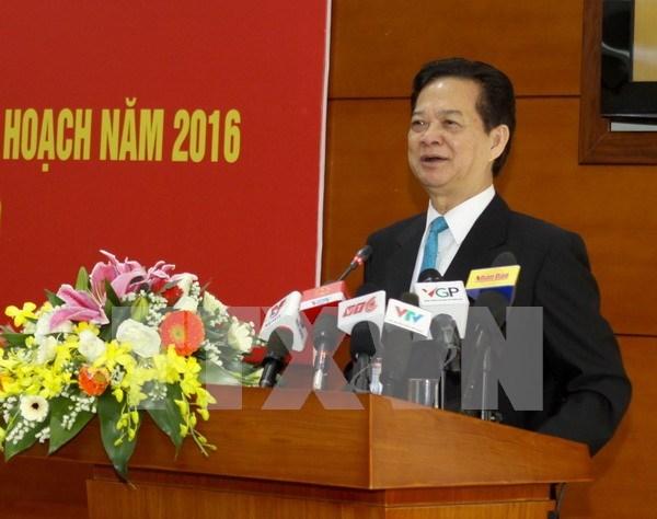阮晋勇总理:集中完善农业与农村相关法律机制 促进农业与农村发展 hinh anh 1