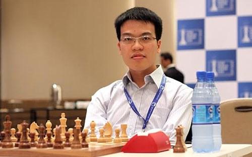 世界国际象棋协会最新排名:黎光廉降至世界第33位 hinh anh 1