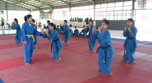 缅甸将越南武术列入两所国家体育学院的教学课程 hinh anh 1