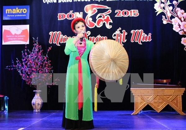 捷克越南文化年——搭起两国文化交流的友谊桥梁 hinh anh 1