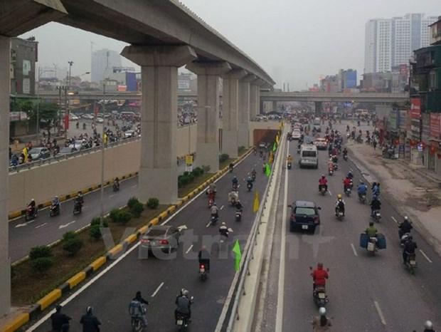 河内市最先进的两条隧道正式通车 hinh anh 1