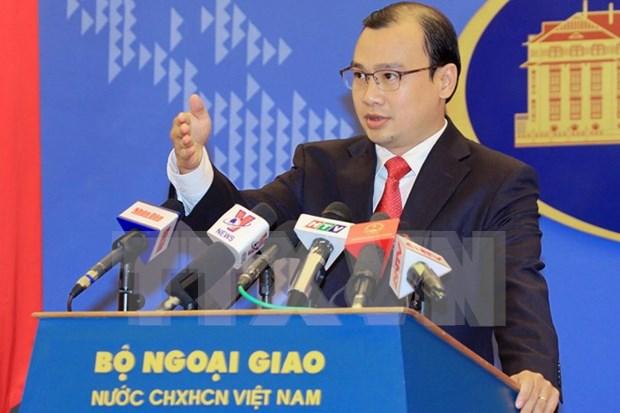 越南外交部发言人:越南重申确保外交工作人员安全 hinh anh 1