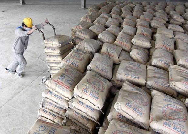 2015年越南国内水泥销售量增长9.5% hinh anh 1
