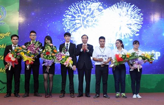 2016年创业节向各最佳创业项目予以表彰 hinh anh 1