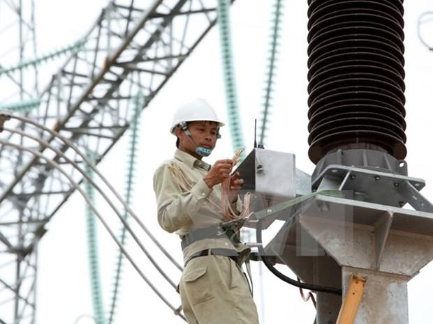越南电力集团出资俞77万亿越盾投资输电网 hinh anh 1