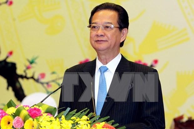 越南政府总理阮晋勇呼吁国际社会发出声音和采取强有力的措施支持东盟 hinh anh 1