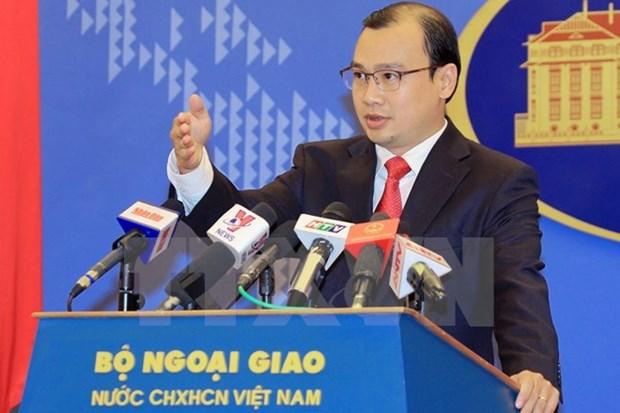 越南外交部发言人驳斥中方发言人的言论 hinh anh 1