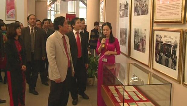 """""""越南共产党与国家革新事业""""展会在河内举行 hinh anh 1"""