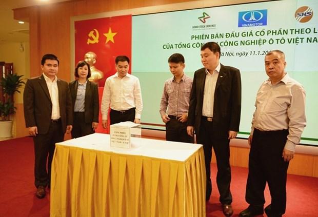 越南汽车工业总公司股票公开拍卖结果揭晓 hinh anh 1