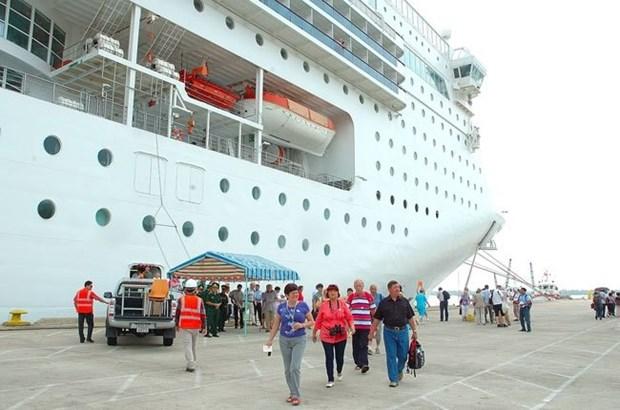 越南岘港市允许停靠仙沙港的游轮开免税店 hinh anh 1