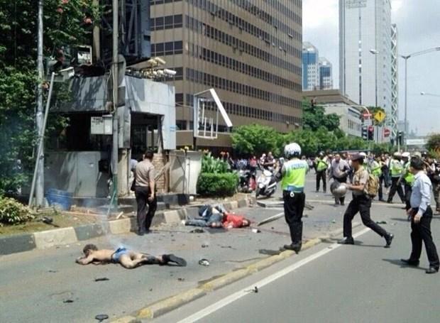 印尼首都雅加达发生多起爆炸 至少7人死亡 hinh anh 1
