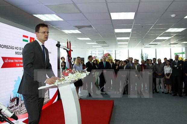 匈牙利驻越南胡志明市总领事馆正式开馆 hinh anh 1