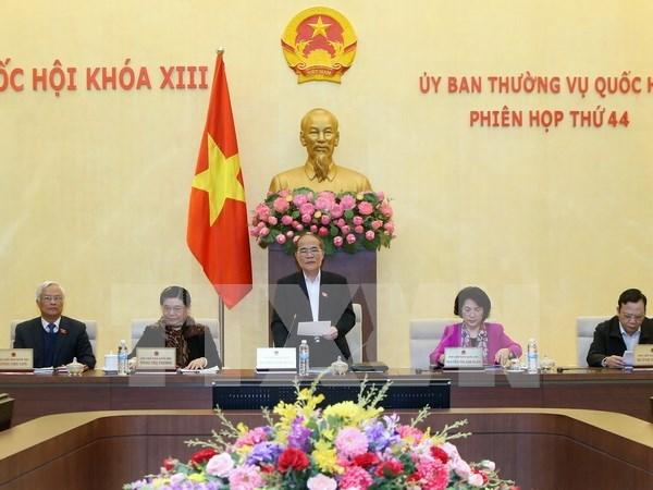 第十三届国会常委会第四十四次会议在河内开幕 hinh anh 1