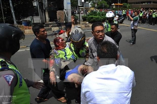 越南谴责印尼雅加达恐怖袭击事件 hinh anh 2