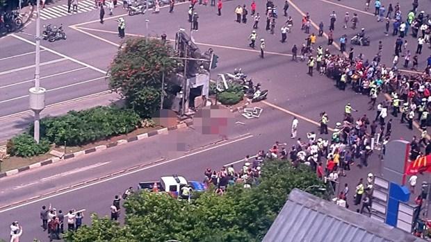 国际社会强烈谴责雅加达爆炸袭击事件 hinh anh 1