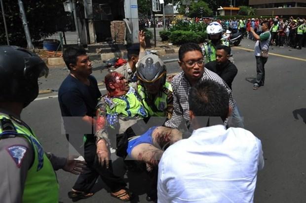 越南驻印尼大使馆:印尼爆炸案目前没有越南公民伤亡报告 hinh anh 1