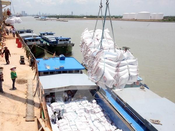 2015年越南大米出口额达26.8亿美元 hinh anh 1