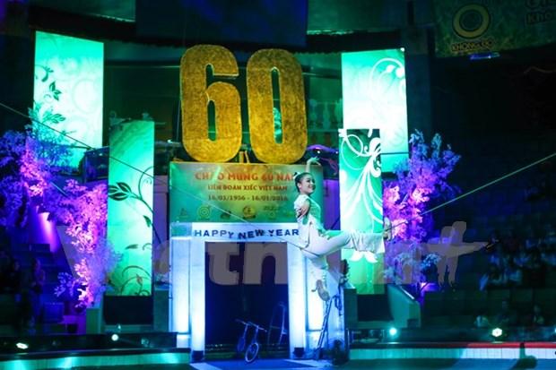 2016年国际杂技艺术节在河内举行 hinh anh 1