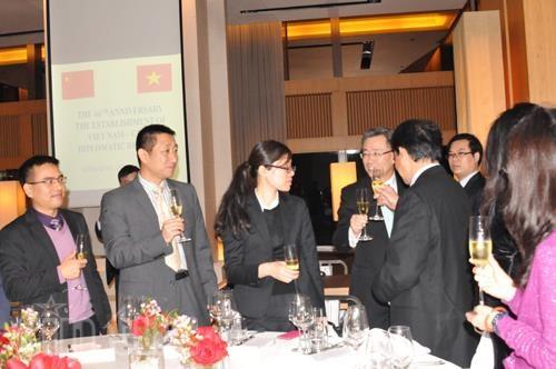 庆祝越中两国建交66周年招待会在中国香港特别行政区举行 hinh anh 2