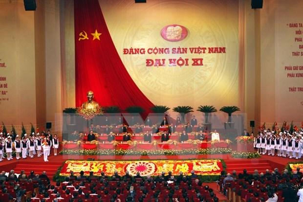"""""""越南共产党—从大会到大会""""展览会在河内举行 hinh anh 1"""