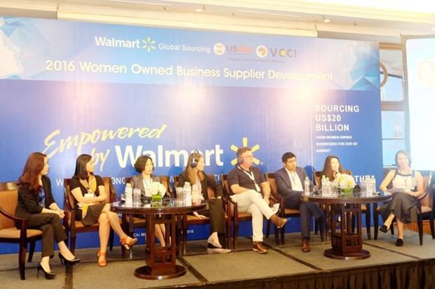 美国沃尔玛公司拟选越南女性企业参加供应链 hinh anh 1