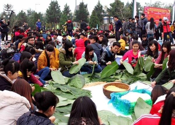 越南各族文化旅游村将举行多项丰富多彩活动喜迎2016年丙申春节 hinh anh 1
