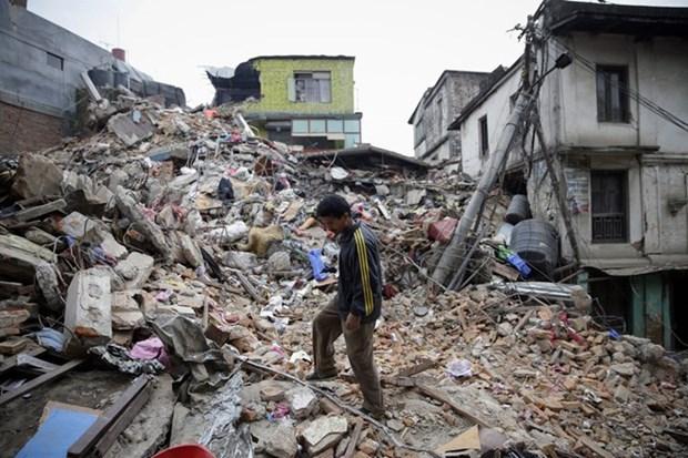 印尼发生5.5级地震 至少8人受伤百余房屋受损 hinh anh 1