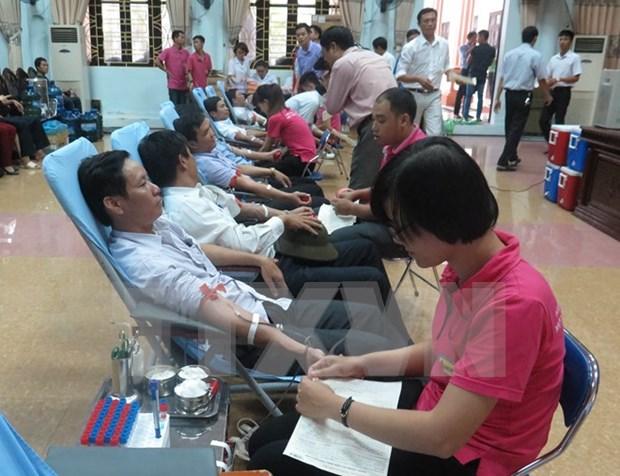 """2016年""""红色献血日""""在全国八个省市一律展开 hinh anh 1"""