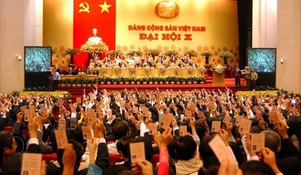 党的光辉历程:党的第十次大会——调集和利用好各种资源,早日将越南走出欠发达状况 hinh anh 1