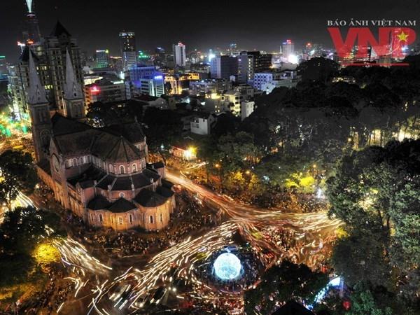 越共十二大:胡志明市——开启革新之路的城市 hinh anh 1