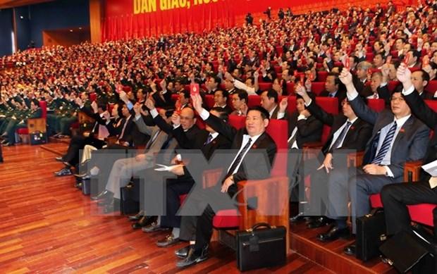 越南共产党第十二次全国代表大会明日召开 hinh anh 1