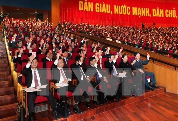 越南共产党第十二次全国代表大会预备会议发表新闻公报 hinh anh 1
