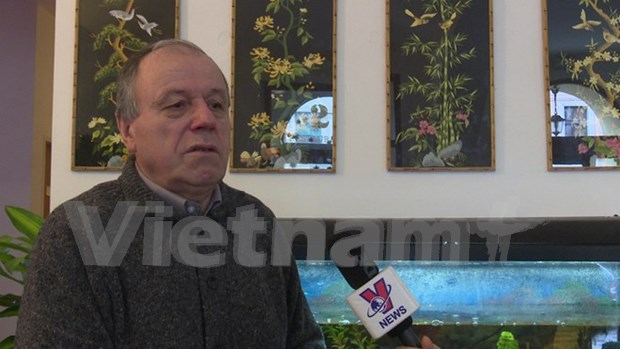 越共十二大:外国政界人士和媒体记者称越南革新事业一定取得新成就 hinh anh 3