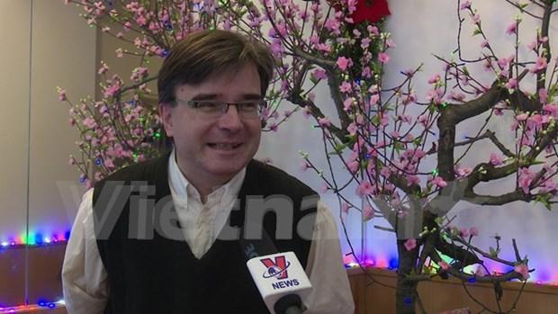 越共十二大:外国政界人士和媒体记者称越南革新事业一定取得新成就 hinh anh 4