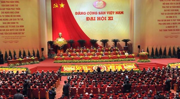 党的第十一次大会:继续提高党的领导力和战斗力全面推进国家革新事业 hinh anh 1
