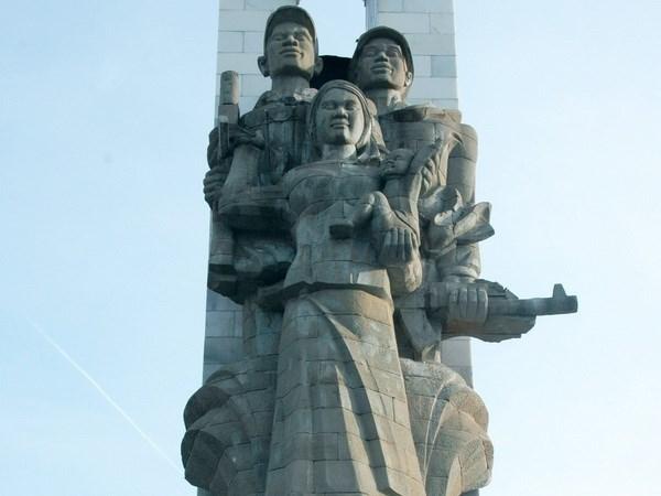 越南志愿军纪念堂修缮工程项目动工 hinh anh 1