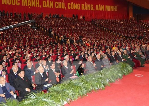 越共十二大:世界167个政党和国际组织致电祝贺越共十二大 hinh anh 1