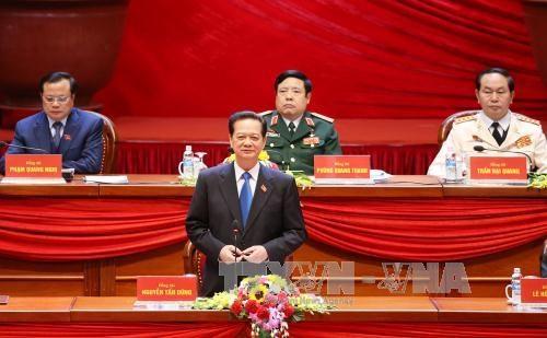 越共十二大:主动融入世界提高越南的国际地位 hinh anh 1