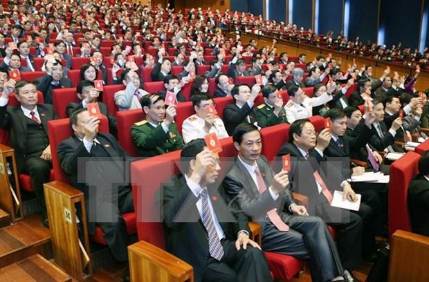越共十二大:越共十二大换届选举规制充分发挥民主集中制原则 hinh anh 1