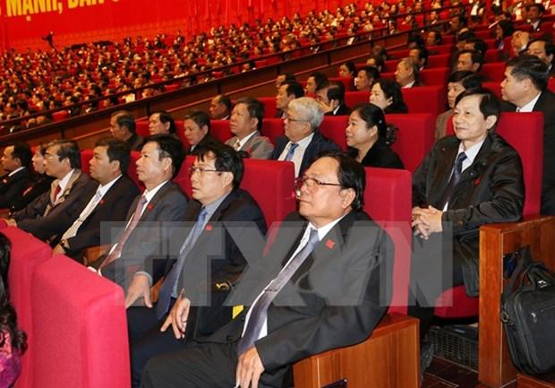 越南共产党第十二次全国代表大会第四天的新闻公报 hinh anh 1