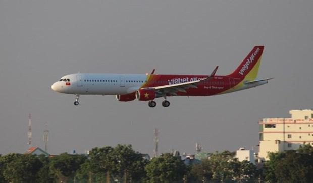 越捷航空公司引进两架空客A321型飞机 hinh anh 1