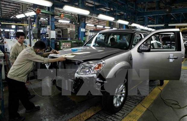 越南是福特在东盟的第三大市场 hinh anh 1