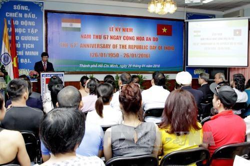 印度共和国第67个独立日庆祝仪式在胡志明市隆重举行 hinh anh 1