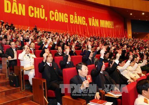 旅居阿尔及利亚越南人社群十分关注越共十二大 hinh anh 1