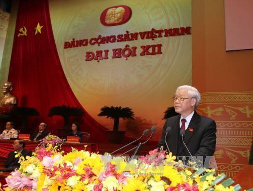 越南共产党第十二次全国代表大会圆满闭幕 hinh anh 2