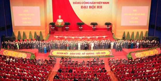 越共十二大:越南经济和政治体系趋于稳定 hinh anh 1