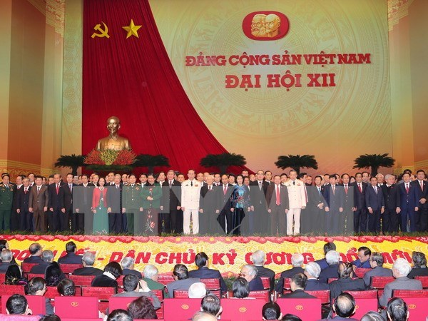 越共中央宣教部举行会议通知越共十二大成果 hinh anh 1