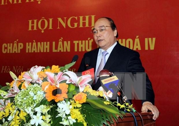 阮春福副总理:构建和实施展开新型合作社模与可持续价值链相结合模式 hinh anh 1
